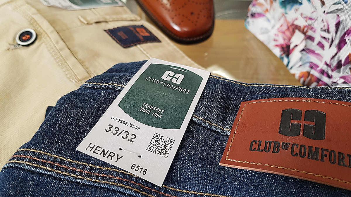 Hosen von Herren von Club of Comfort bei Faiss Modehaus