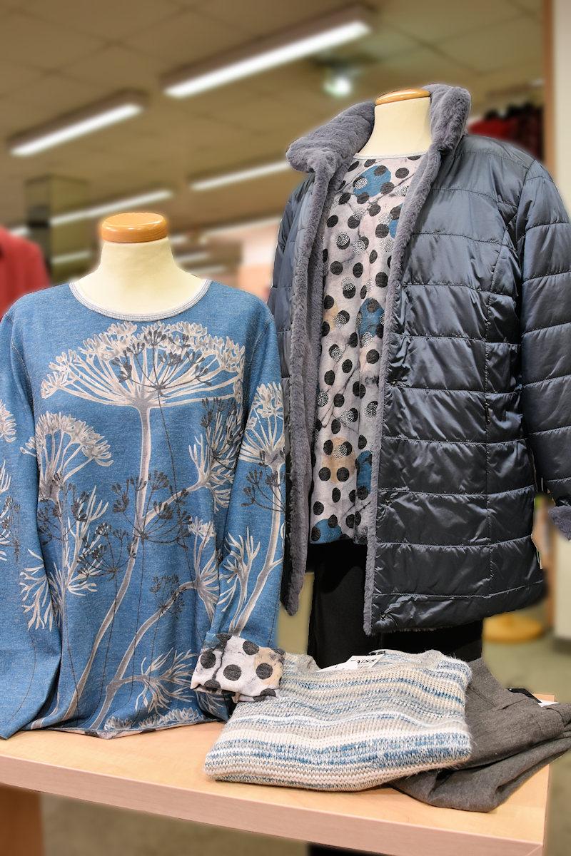 Damen-Outfit mit Wendepulli für Herbst 2020