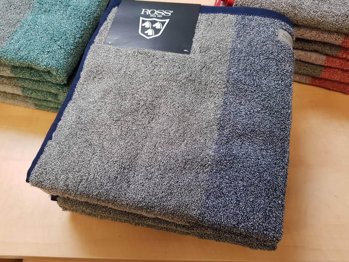 Handtuch-Set blau von ROSS