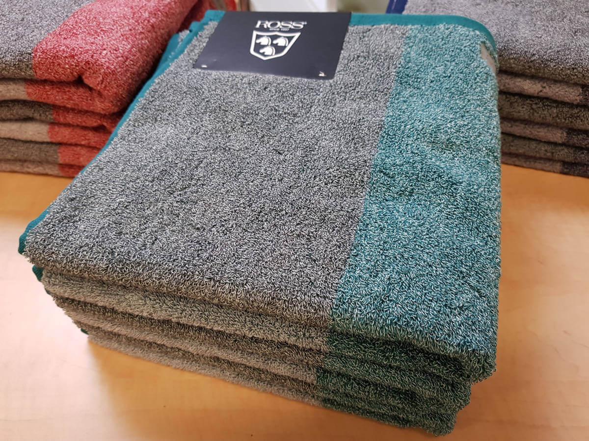 Handtuch-Set grün von ROSS