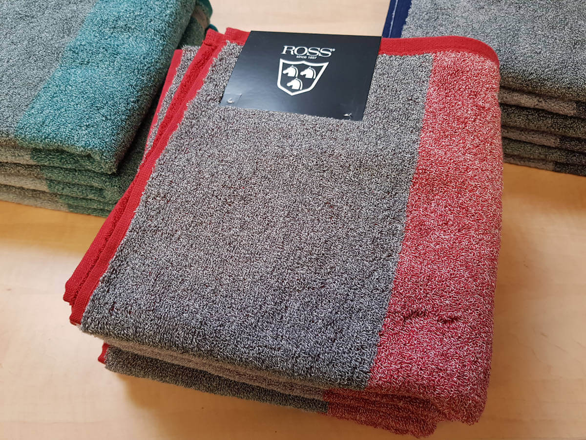 Handtuch-Set rot von ROSS