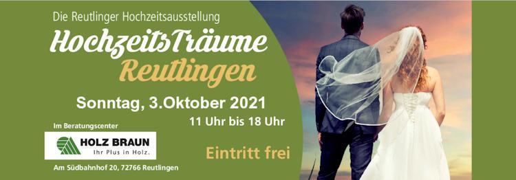 Button Hochzeitsträume 2021 in Reutlingen